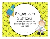 Space-ious Suffixes (–ous, -ive, -ly, -ful, and -less) {Co