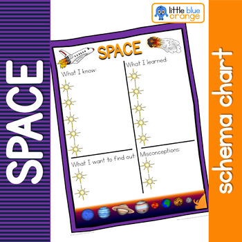 Space schema  worksheet