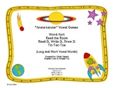 """Space-tacular"" Long and Short Vowel Sound Games and Activities"