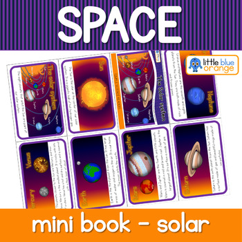 Space - the Solar System - mini book