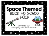 Space themed Back to School pack! - editable!