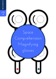Space themed Comprehension Magnifying glasses