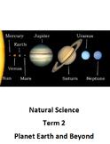 Space worksheets
