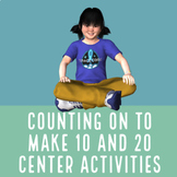 Counting on to Make Ten and Twenty Fluency Center Activity