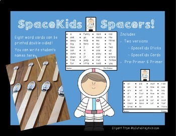 SpaceKids Finger Spacers