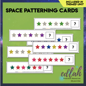Space/Star Patterning Cards