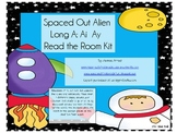 Spaced Out Long A (ai and ay) Read the Room Kit