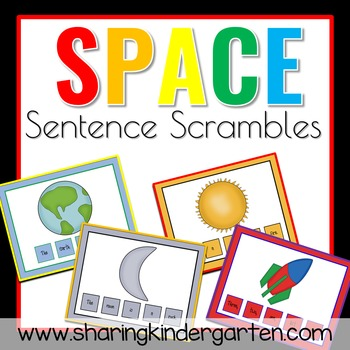 Spaced Out  Sentence Scrambles