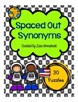 """Spaced Out""  Synonyms Puzzles"