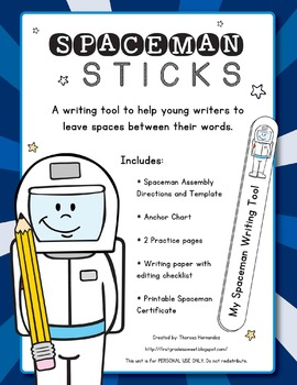 Spaceman Sticks Mini-Packet