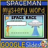 Spaceman Word Game Google Slides