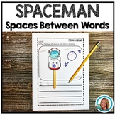 Spaceman Finger Spacing for Writing
