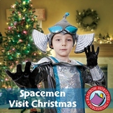 Spacemen Visit Christmas Gr. PK-8