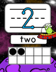 Space Number Line 1-20