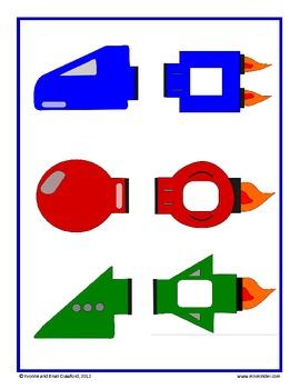 Interactive Addition Activity: Build a Spaceship