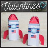 Spaceship Valentine Box