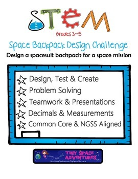 STEM Spacesuit Backpack Design Challenge: Grades 3-5