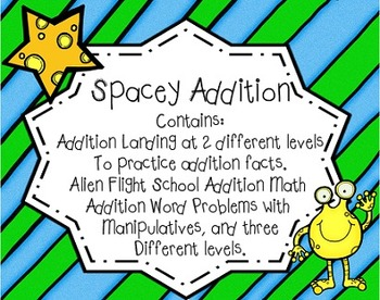Spacey Addition Common Core Aligned