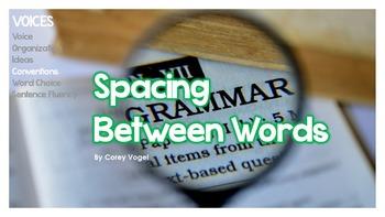 Spacing Between Words