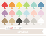 Spade Clipart; Symbol, Card Suit