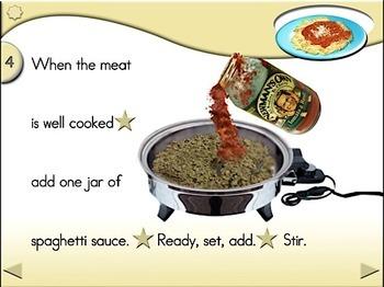 Spaghetti - Animated Step-by-Step Recipe - Regular
