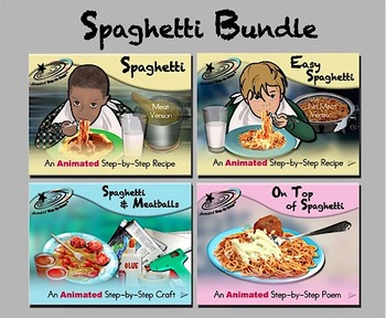 Spaghetti Bundle - Animated Step-by-Steps® - Regular