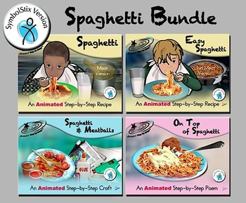 Spaghetti Bundle - Animated Step-by-Steps - SymbolStix