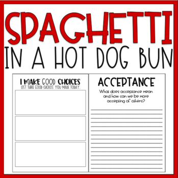 Spaghetti In A Hot Dog Bun / Read-Aloud Book Companion