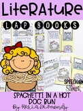 Spaghetti In a Hot Dog Bun Literature Lap Book