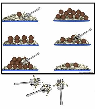 Spaghetti & Meatballs COUNTING