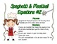 Spaghetti & Meatballs Equations-- An Equality Resource
