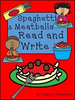 Spaghetti & Meatballs Read and Write