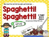 Sight word game Spaghetti! Spaghetti!