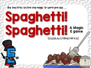 Spaghetti Spaghetti Magic 'e'