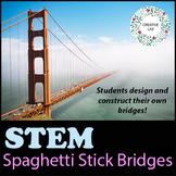 Spaghetti Stick Bridge Contest - STEM