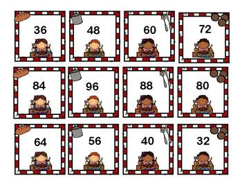 Spaghetti and Mathballs - Multiplication