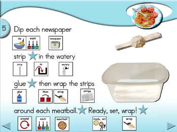 Spaghetti and Meatballs - Animated Step-by-Step Craft SymbolStix