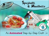 Spaghetti and Meatballs - Animated Step-by-Step Craft SymbolStix