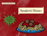 Spaghetti and Meatballs Game Template--Use with any subject!