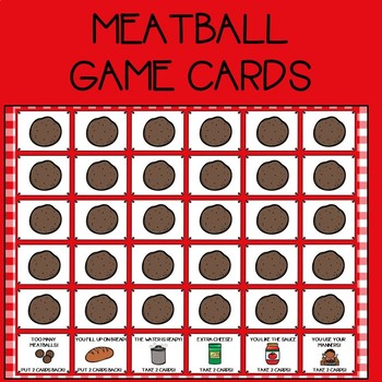 Spaghetti and Meatballs Open Ended Games