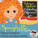 Spaghetti in a Hot Dog Book Companion Writing and Reading