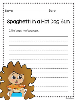 Spaghetti In A Hot Dog Bun Printable