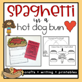 Spaghetti in a Hot Dog Bun Activities {Back to School}