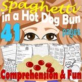 Spaghetti in a Hot Dog Bun : Comprehension Book Companion & Activity Packet Unit
