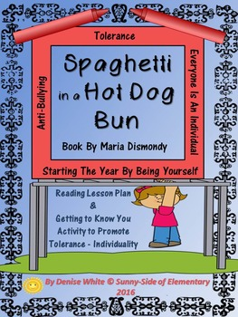 Getting to Know Each Other & Individual Differences -Spaghetti in a Hot Dog Bun