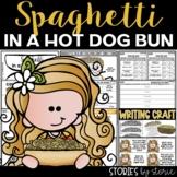 Spaghetti in a Hot Dog Bun   Printable and Digital
