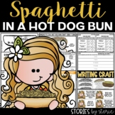 Spaghetti in a Hot Dog Bun | Printable and Digital