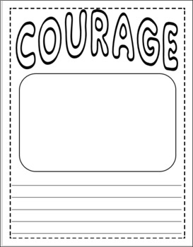 Spaghetti in a Hot Dog Bun-Read Aloud Packet About Courage