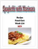 Spaghetti with Maranara