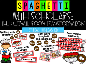 Spaghetti with Scholars Room Transformation Kit